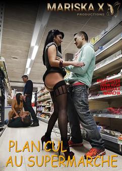 Plan cul au supermarché