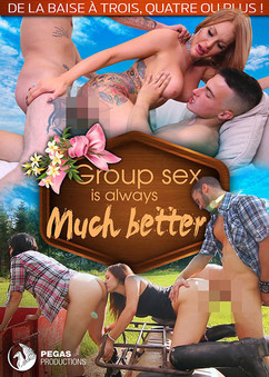 Group sex is always much better