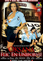 Oksana, cop in uniform