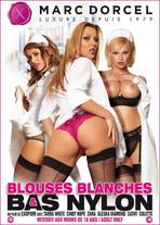 Blouses blanches et bas nylon