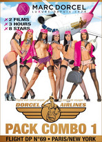 Pack Dorcel Airlines #1 : Flight DP69 + Paris/New York