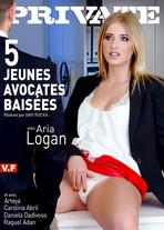 5 jeunes avocates baisées