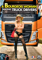 A bourgeois woman among truck drivers