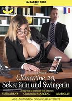 Clémentine, 20, Sekretärin und Swingerin