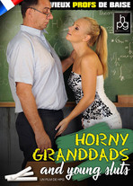 Horny granddads and young sluts