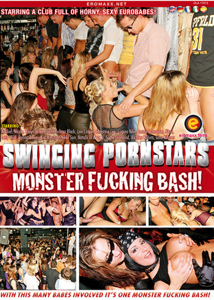 Swinging pornstars monster fucking bash