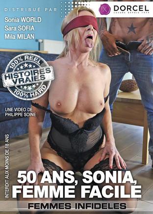 50 ans, Sonia femme facile
