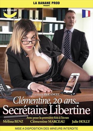 Clémentine, 20 ans, secrétaire libertine