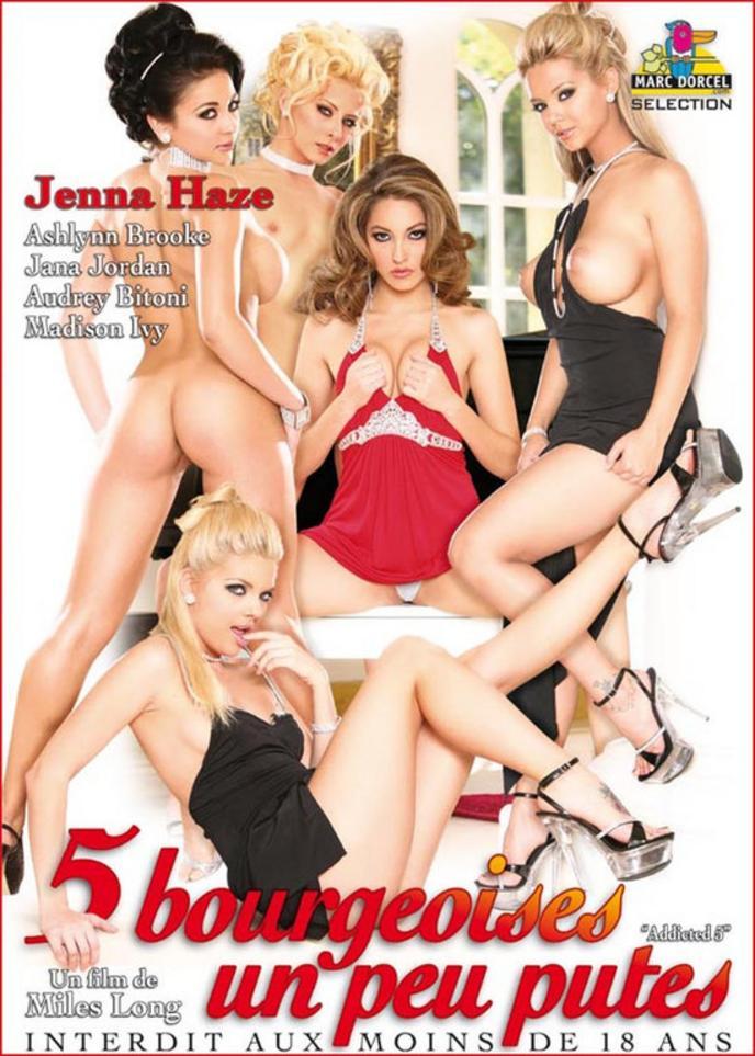 5 Пристрастившихся Девушек / 5 Bourgeoises Un Peu Putes (2021) Dvdrip