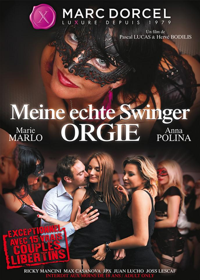 Echte Orgie-Party