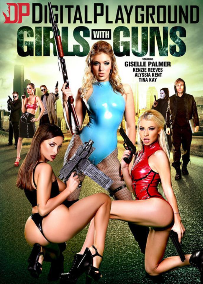 Chicks with guns xxx photo 414