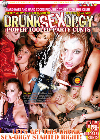Drunk Sex Orgy : Power Tooled Party Cunts