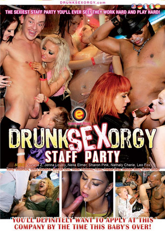 Drunk Sex Orgy : Staff Party