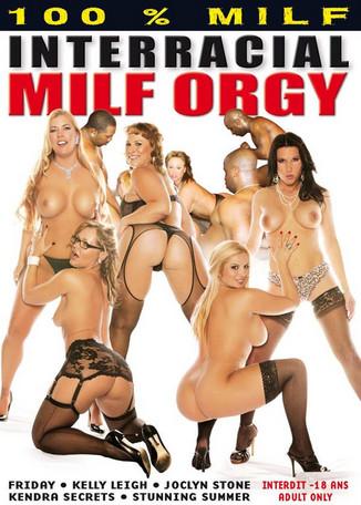 MILF-Orgie in Schwarz