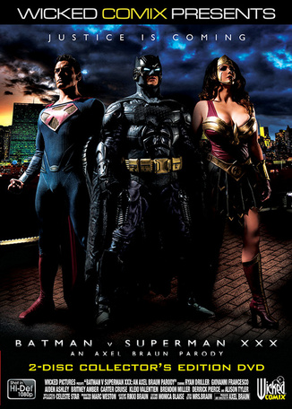 Batman Vs Superman XXX, la parodie