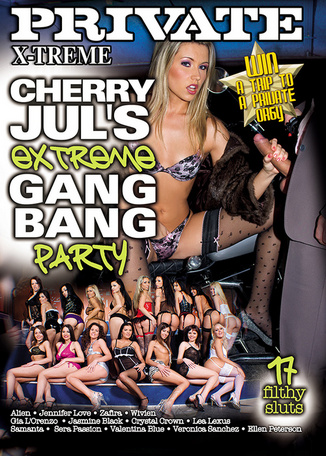 Cherry Jul's Extreme Gangbang Party