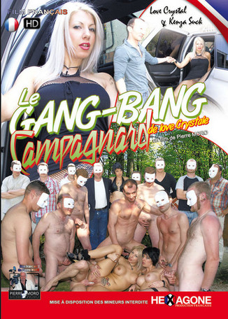 Le gang bang campagnard de Love Crystale