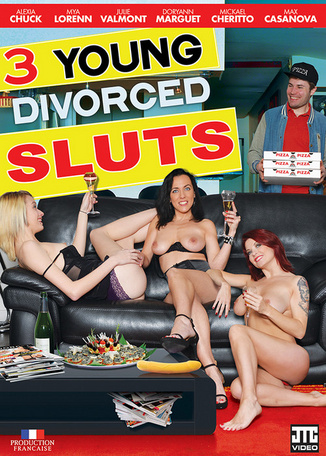 3 young divorced sluts