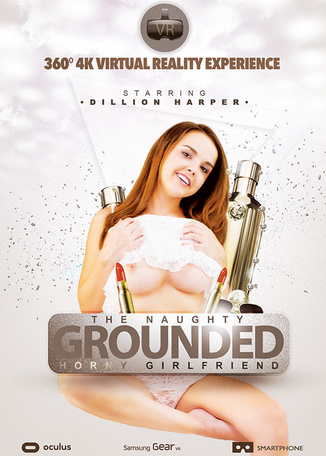 The naughty grounded horny girlfriend - VR 360°