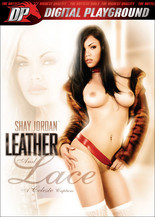 Shay Jordan, leather & lace