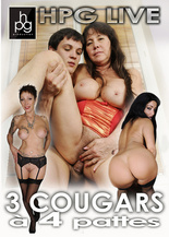 3 cougars on all fours