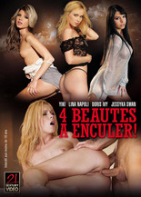 4 Beauties fucked in the Ass