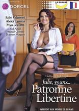 Julie, 35 ans... patronne libertine