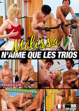 Melissa Lauren only likes threesomes