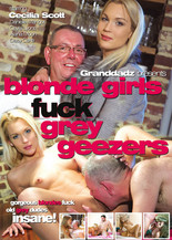 Blondes fuck grey geezers