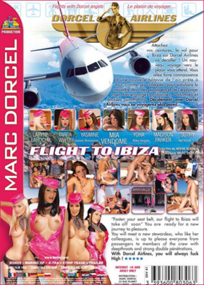 Jaquette Dorcel Airlines 4 : Flight to Ibiza