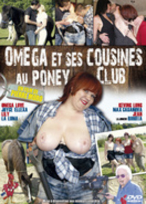 Cover of Oméga et ses cousines au poney club