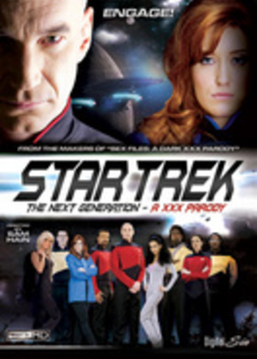 Jaquette de Star Trek : the next generation a XXX Parody