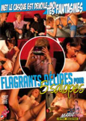 Cover of Flagrants délires pour 5 salopes