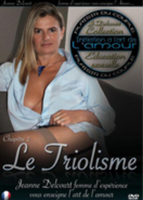 Cover of Initiation à  l'art de l'amour par Jeanne Delcourt : Le Triolisme