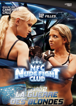 Jaquette Nude Fight Club : Round #2 La guerre des blondes