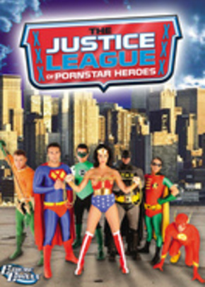 Cover of The Justice League of Pornstar Heroes