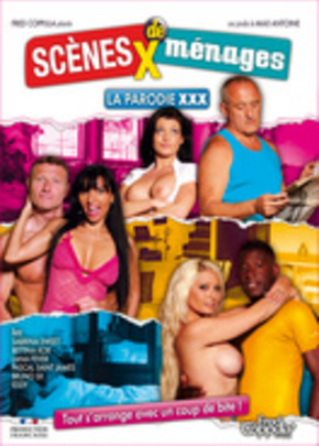 Cover of Scènes X de Ménages, la parodie XXX