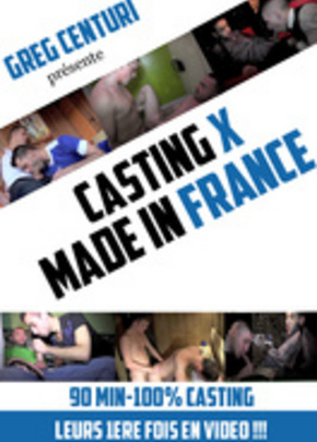 Jaquette de Casting X Made in France