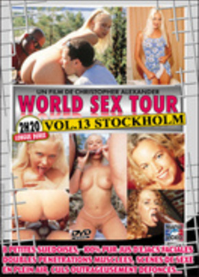 Jaquette de World Sex Tour #13 : Stockholm