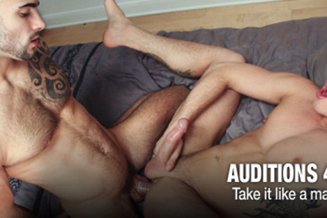 Trailer porn movies of Auditions 46: Take it like a man