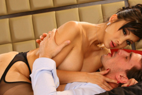 Trailer porn movies of In bed with Katsuni