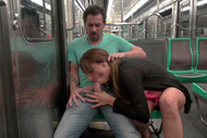 The slut from the subway