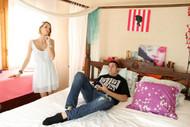 Erica Fontes, baise à domicile