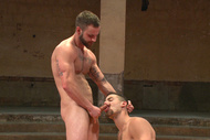 Naked Kombat : Leon Fox vs. Chris Bines