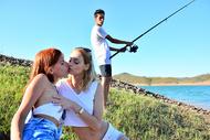 A la pêche aux Moules
