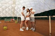 Anissa, die tennisspielerin