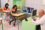 Examen de passage pour étudiantes