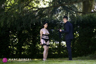 Valentina Nappi naked in a park in Luxure my wife fucked by others, Marc Dorcel's new movie in VOD on Dorcel Vision