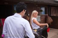 Cayla Lyons va se faire baiser par Xander Corvus dans La Cavalière la nouvelle production de Marc Dorcel en VOD sur Dorcel Vision