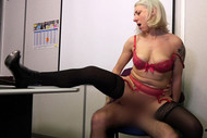 Clémentine, 20 years old, swinging secretary